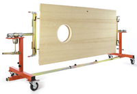 Rationalisation & innovation for heavy door handling: finish, store and transport doors easily with doormaster®