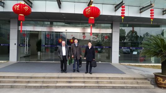 Firmenzentrale SLPT, in Ningbo (Shanghai, China)