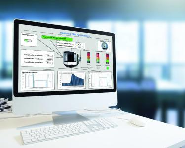 Optimierungspotentiale im Shopfloor erschließen: Das PROXIA Prozessdaten-Modul speichert, verwertet und visualisiert Prozessdaten von Maschinen und Anlagen, wie. z.B. Temperaturen, Geschwindigkeiten oder Drücke.