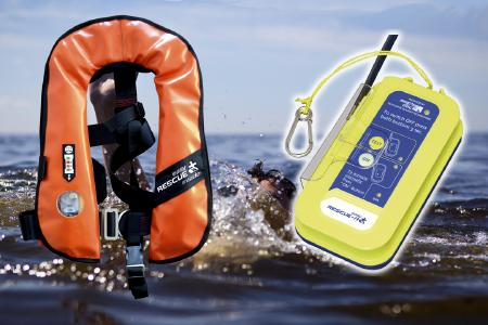 AIS SART easyRESCUE & BESTO automatic life jacket