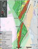 TerraX confirms that Gold structures that hosted one of Canada's highest grade past producing mines (The Giant Mine) extend onto TerraX target zone