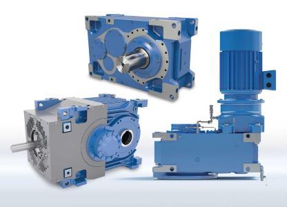 Das leistungsstarke MAXXDRIVE®-Industriegetriebe-Portfolio auf Basis des modularen NORD-Produktbaukastens deckt alle industriellen Anwendungsfelder bis 282 kNm ab