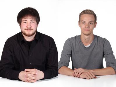 Tweer Fräck und Simon Knittel