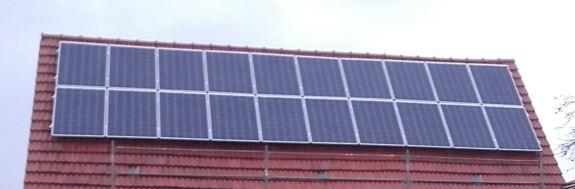 Solar-Norddach