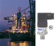 A-10 pressure transmitter with GL approval − primarily for conventional applications on-board ships (Photo: WIKA)