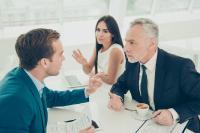 Konflikttelefon - neues Instrument für das Konfliktmanagement im Unternehmen steigert Produktivität. (c) Fotolia 151376402 S Streit