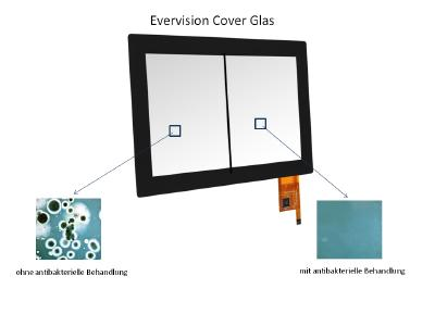 EVERVISION presents antibacterial coated cover glasses