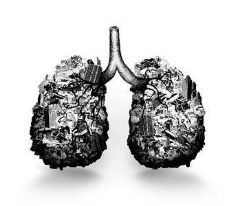 Belastete Außenluft - drinnen besonders gefährlich / Bild: Camfil
