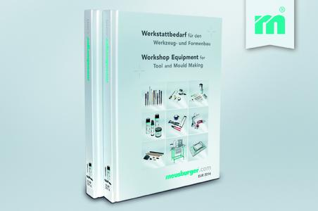 Meusburger's new catalogue Workshop Equipment for Tool and Mould Making / Picture credits: Photo (Meusburger)