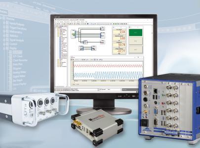DASYLab unterstützt weitere Hardware von Labortechnik Tasler, optiMEAS und DEWETRON