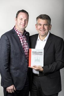 Uwe Niekrawietz, Geschäftsführer der UWT GmbH mit Cay von Fournier