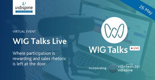 Workflow Innovation Group (WIG) präsentiert WIG Talks Live am 26. Mai 2021 (Copyright: Arvato Systems)