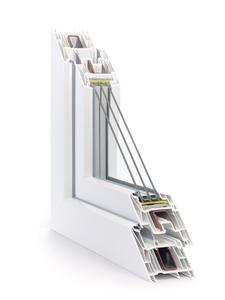 SYNEGO is ideal for use in a triple thermal glazing installation of up to 51 millimeters thanks to its forward-thinking depth of 80 millimeters