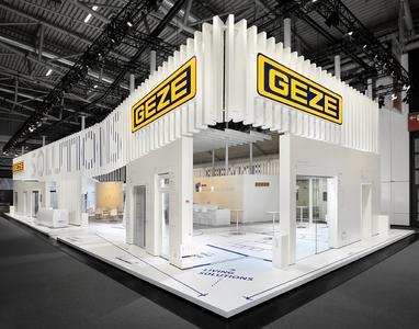 Neuer Markenauftritt von GEZE auf der BAU 2015