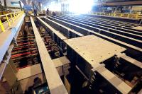 Work to complete the new continuous casting system S1 is on schedule