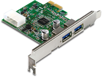 TRENDnet liefert einen 2 Port USB 3.0 PCI Express Adapter - TU3-H2PIE -