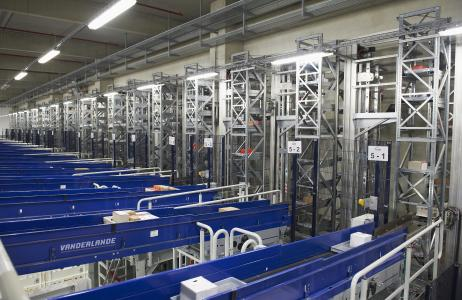 VAHLE elektrifiziert Logistikzentrum der Edeka Südwest