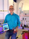 """""""Ralph Kamp, Geschäftsführer und Mitbegründer von dronevent, präsentiert das neue Online-Event.""""¬¬¬"""