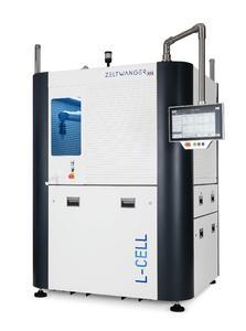 Die neue, flexible, roboterbasierte Laseranlage L-CELL der ZELTWANGER Automation GmbH markiert, kennzeichnet und beschriftet Freiformflächen von Produkten mit komplexen Geometrien vollautomatisch, schnell und sicher