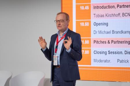 Dr Michael Brandkamp HTGF Opening