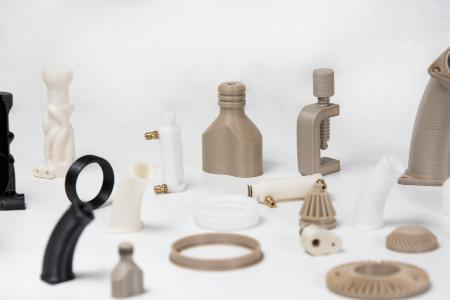 Parts made of high-performance polymers with Apium P 155 3D printer