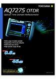 Yokogawa OTDR AQ7275 Broschüre