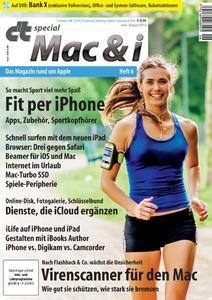 Das Titelbild der aktuellen Mac&i-Ausgabe 6
