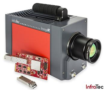 10 GigE interface for the thermographic camera series ImageIR®