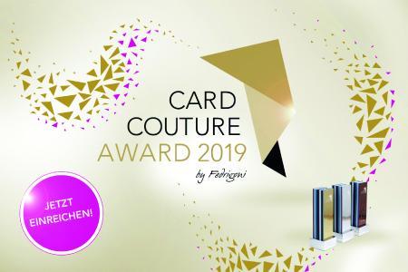 CARD COUTURE AWARD 2019 by FEDRIGONI