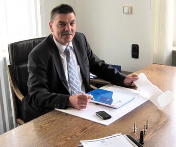 Geschäftsführer Wilfried Pilz