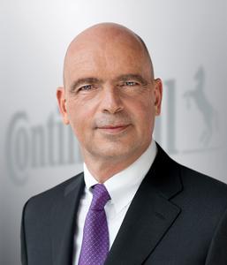 Frank Jourdan, Mitglied im Vorstand der Continental AG und Leiter der Division Chassis & Safety