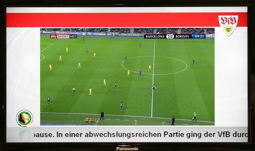 VfB Stuttgart startet mit IPTV und Digital Signage in die Fussballsaison 2012