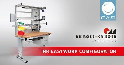 Simple online configuration of modern workstation systems from RK Rose+Krieger
