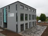 Neubau und neue Vorlesungsräume am RheinAhrCampus in Remagen  (Quelle: RAC/MBA)