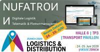 Logistics & Distribution Zürich 2020 - Neues Datum für Präsentation von Telematik & Flottenmanagement by Nufatron