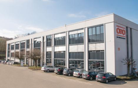 Sitz des neuen Tochterunternehmens OBO Bettermann Vertrieb Deutschland GmbH & Co. KG in Iserlohn