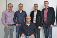 Stefan Esders verstärkt seit 2019 die Geschäftsführung der Esders GmbH, von links: Stefan Esders, Martin Esders, Bernd Esders, Hubert Penniggers und Bernhard Esders.