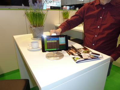 Tablet Kasse auf der Euroshop 2014