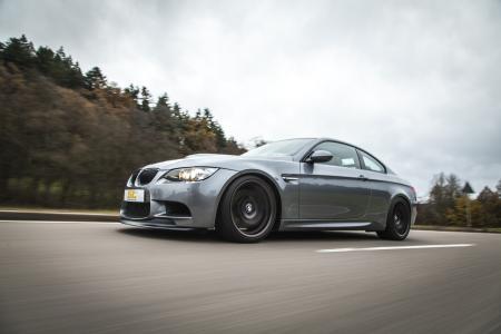 Auch für den BMW M3 (E92) hat ST verschiedene Gewindefahrwerke im Angebot