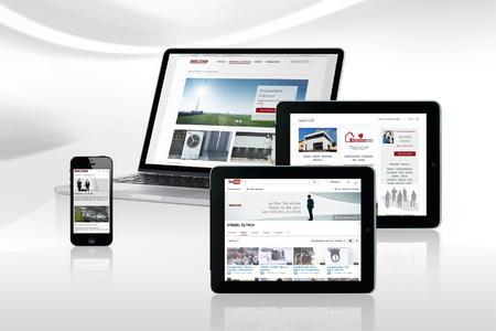 Neue Website läuft überall