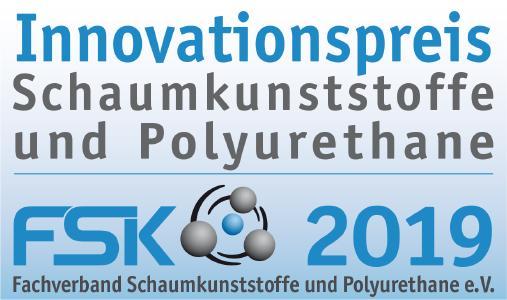 Innovationspreis Schaumkunstostoffe und Polyurethane 2019 von FSK