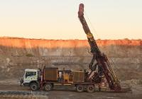 Bohrung auf dem Goldprojekt Pilbara, Foto: De Grey Mining