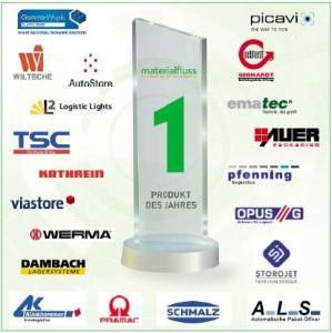 materialfluss PRODUKT DES JAHRES 2019: AutoStore in der Kategorie Lager und Kommissioniertechnik nominiert