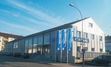 Seit 10 Jahren in Ansbach: Das Handelsunternehmen Richard Köstner AG