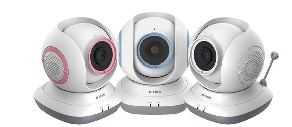 D-Link EyeOn Pet Monitor DCS-855L/P in allen drei Farben