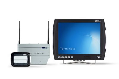 LogiMAT 2014: Stabile Industrial WLAN-Verbindungen, komfortable Staplerterminals mit Multi-Touch