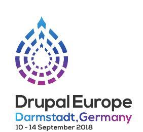 Logo Drupal Europe 2018