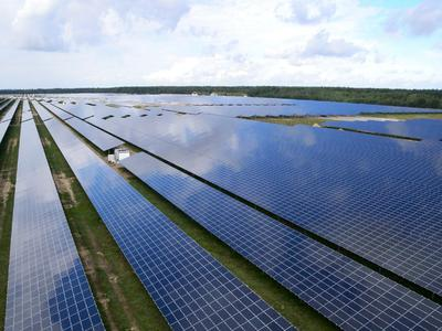 With an output of nearly 70 MWp, Alt Daber near Wittstock is Europe's largest thin-film ground-mounted solar power plant