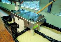 Plansiebmaschine SIFTOMAT, Einsatzbereich Lebensmittelindustrie