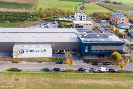 The Wunderlich company headquarters in Grafschaft-Ringen. Foto Borgers GmbH